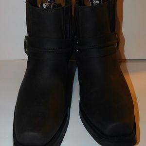 Grinders Shoes - Grinders 490 Harness Lo Mens Cowboy Biker Boots
